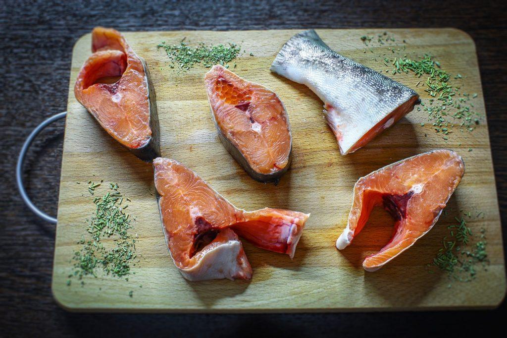 Salmon eating safety